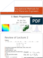 AP3114 Lecture WK3 Programming