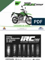 Manual de Partes KLX 150