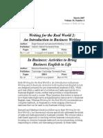 TESL-EJ 10_4 -- Business Writing