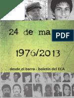 24 de Marzo 1976/2013