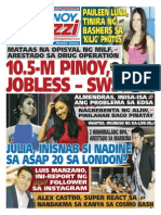 Pinoy Parazzi Vol 8 Issue 110 September 09 - 10, 2015