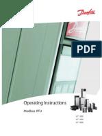 Modbus RTU Operating Instructions