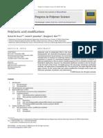 Poly(Lactic Acid) Modifications