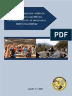 Informe de DD.HH y DIH de la  Coordinación Agrominera