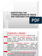Identifying the Consequences of Pests and Diseases for Trees