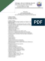 Tematica Oncologie Medicala