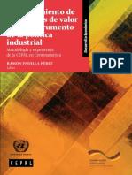 Fortalecimiento de Las Cadenas de Valor Como Instrumento de La Política Industrial