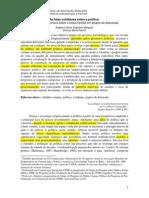 As Falas Cotidianas Sobre a Política a Produção Discursiva Sobre Bf