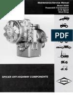 Dana 36000 series service manual