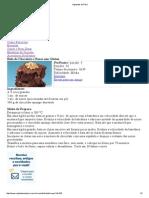 Bolo de Chocolate e Nozes
