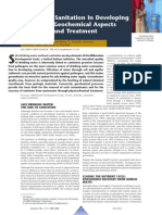 Water and Sanitation in Developing Countries-Geochemical Aspects of Quality and Treatment