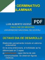 Disco Germinativo Bilaminar(Clase7)