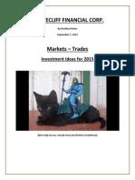 Market Report -Sept 01 2015