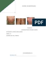Informe de Dermatologia