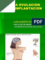 De La Ovulacion a Fecun Dacion(4clase)