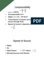 fluids compressibility