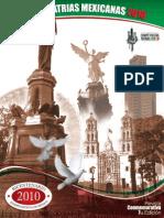 Revista Del Bicentenario de La Independencia de Mexico 2010 Comite Fiestas Patrias Chicago