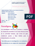 Paradigma Interpretativo - Didactica1