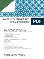 Kaizen Based Lean Management
