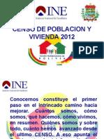 Censo de Poblacion y Vivienda 2012