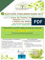 Affiche Elections EBL