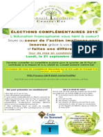 Affiche Elections St-Paul