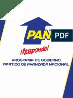 Plan de Gobierno PAN