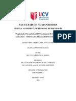 CuPropiedades Psicométricas Del Cuestionario De Conductas Antisociales – Delictivas En Alumnos Del Nivel Secundarioeva Montoya, Jimena