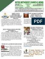 E-News Sept. 8