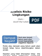 Analisis Risiko Lingkungan