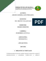 Infor Bibliotecas Virtuales.
