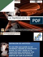 Presentacion Hipotesis y Variables Jorge Zelaya