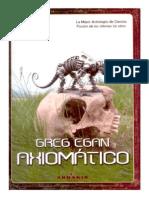 Egan, Greg - Axiomatico