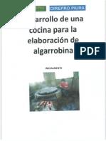 Cocina Para Elaborar Algarrobina