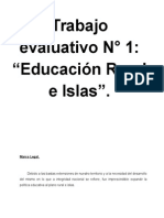Trabajo Prácticos Educación Rural e Islas