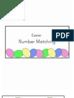 Number Matching File Folder Game