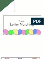 Letter Matching File Folder