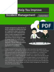 6 Tips to Help You Improve Incident Management