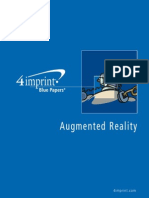 Augmented Reality Blue Paper