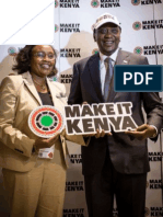 Press Release - Make It Kenya Launch