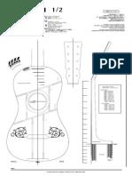 Plano Guitarra Barroca