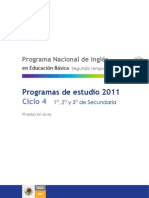 Prog Inglés 2011