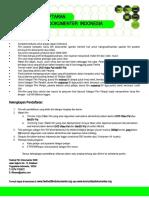 Formulir Pendaftaran Kompetisi Film Dokumenter Indonesia