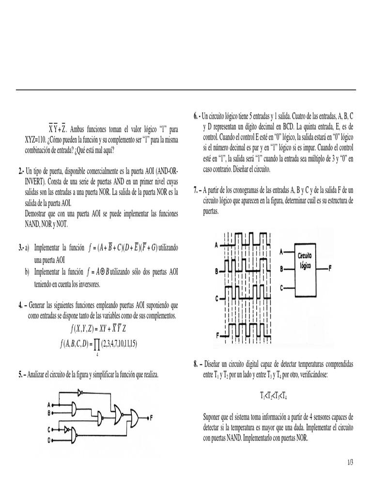 Circuito Logico : Circuitos lógicos ejemplos by darwin issuu