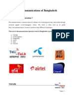Telecommunications of Bangladesh