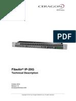 Ceragon FibeAir IP-20G Technical Description T7.9 ETSI Rev a.04