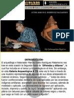 Galería Arqueológica Nº 33.- Ofrendas y Altares [Parte 2].- La Cerámica