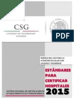 Estandares Certificación Hospitales 2015