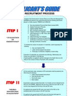 Procedure of Recruitment