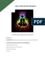 Consejos Para Activar Los Chakras